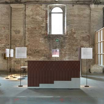 Biennale Architettura 2018, Francesca Torzo, Z33 House for Contemporary Art, Petersen Tegl, Tile cladding