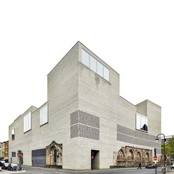 Peter Zumthor, Kolumba Museum, Kolumba 10 years, Madonna in den Trümmern, perforated brickwork